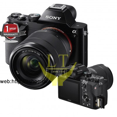 Sony Alpha ILCE A7 kit 28-70mm