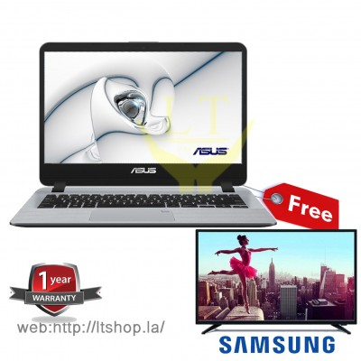 "Asus X407UF_BV039T Core I5 Free TV 32"" Samsung"