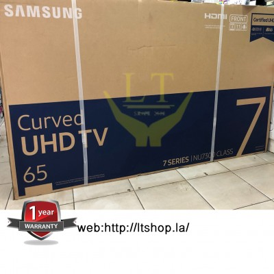 "Samsung UHD 4K Curved Smart TV 65"" รุ่น UA65NU7300K"
