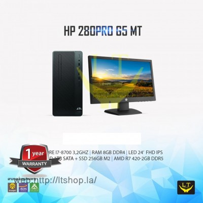HP 280pro G5 MT Core I7 + SSD256GB M2