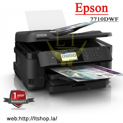 Printer Epson WF 7710DWF A3 (print-scan-copy-Fax)