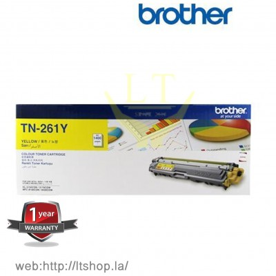 Toner Original BROTHER TN-261 Y