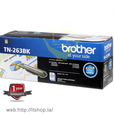 Toner Original BROTHER TN-263 BK